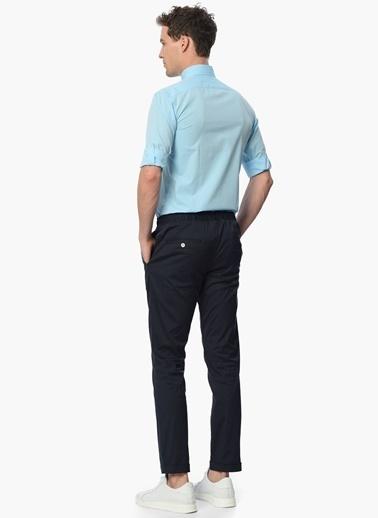 NetWork Uzun Kollu Klasik Gömlek Turkuaz